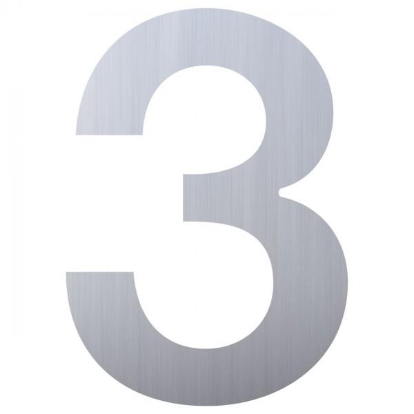 Numéro de Maison ''3'' Inox