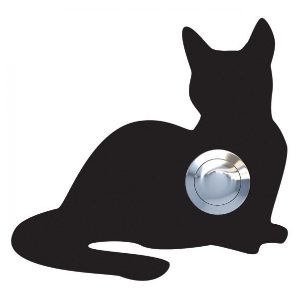 Sonnette Chat ''Kitty'' Noire
