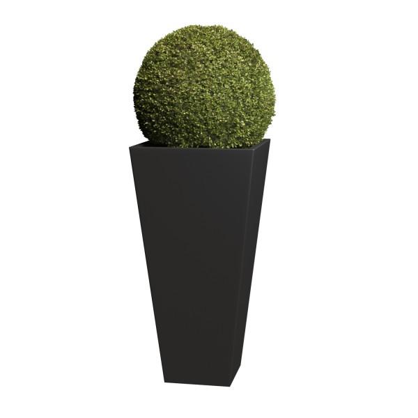 Jardinière Vase Medium Noire