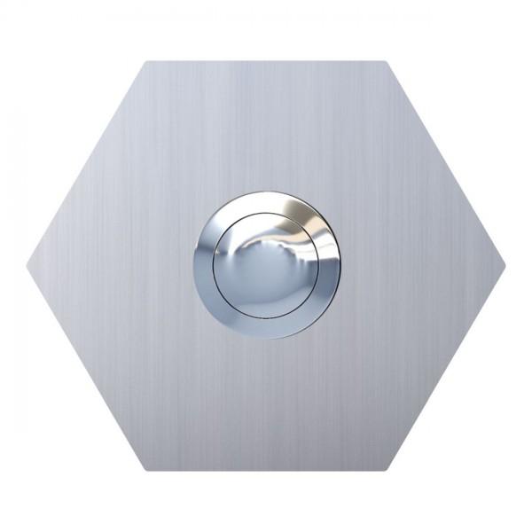 Sonnette Hexagone Inox