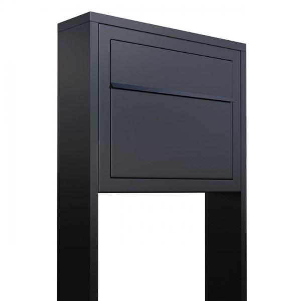 Boîte aux lettres sur pieds Elegance Noire
