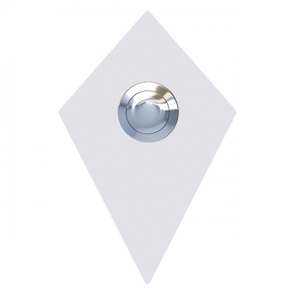 Sonnette Diamant Blanche