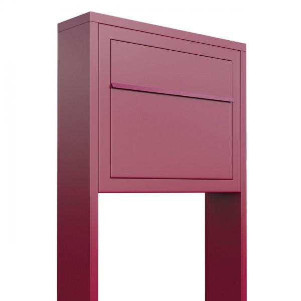 Boîte aux lettres sur pieds Elegance Rouge