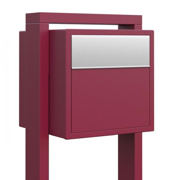 Boite Aux Lettres Sur Pieds Design Boite Aux Lettres Soprano Rouge