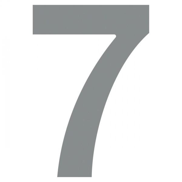 Numéro de Maison ''7'' Grise