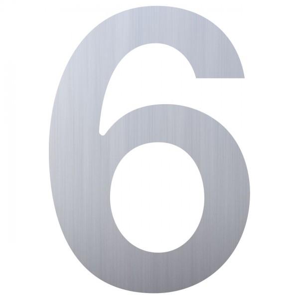 Numéro de Maison ''6'' Inox