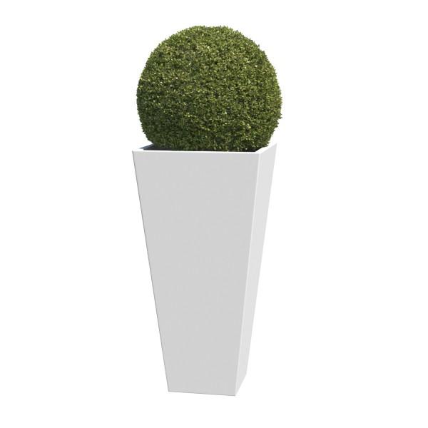 Jardinière Vase Medium Blanc