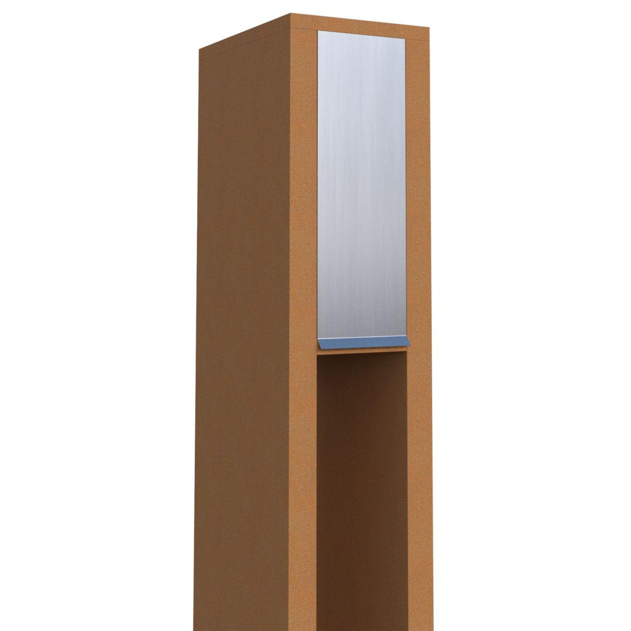 la zed bo tes sur pieds boite aux lettres sonette. Black Bedroom Furniture Sets. Home Design Ideas
