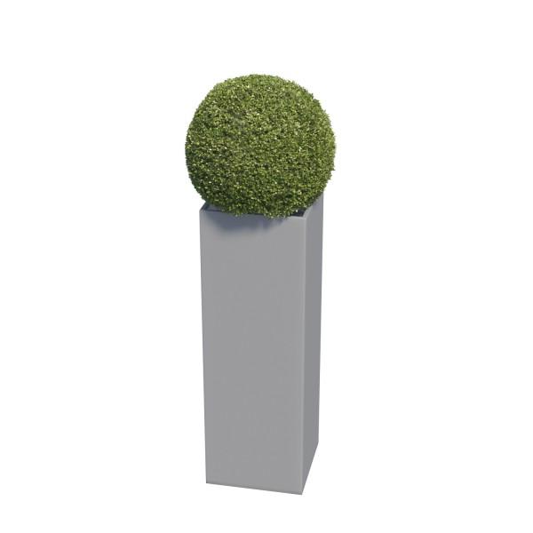 Jardinière Skinny Pillar Medium Grise