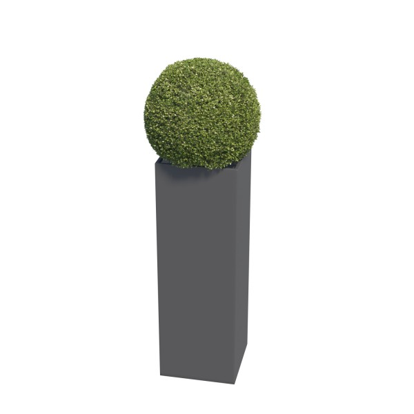 Jardinière Skinny Pillar Medium Anthracite