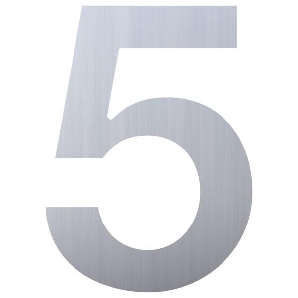Numéro de Maison ''5'' Inox