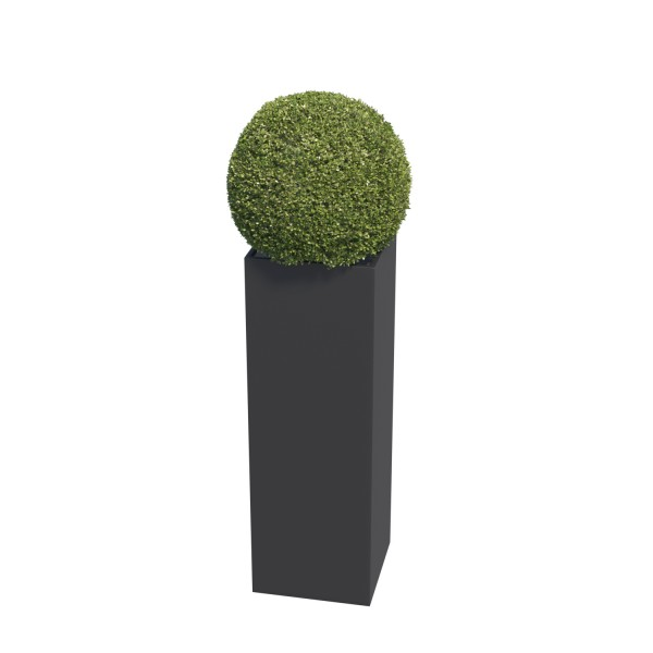 Jardinière Skinny Pillar Medium Noire