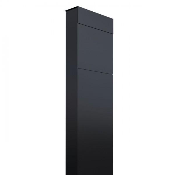 Boîte aux lettres sur pieds The Box Noire